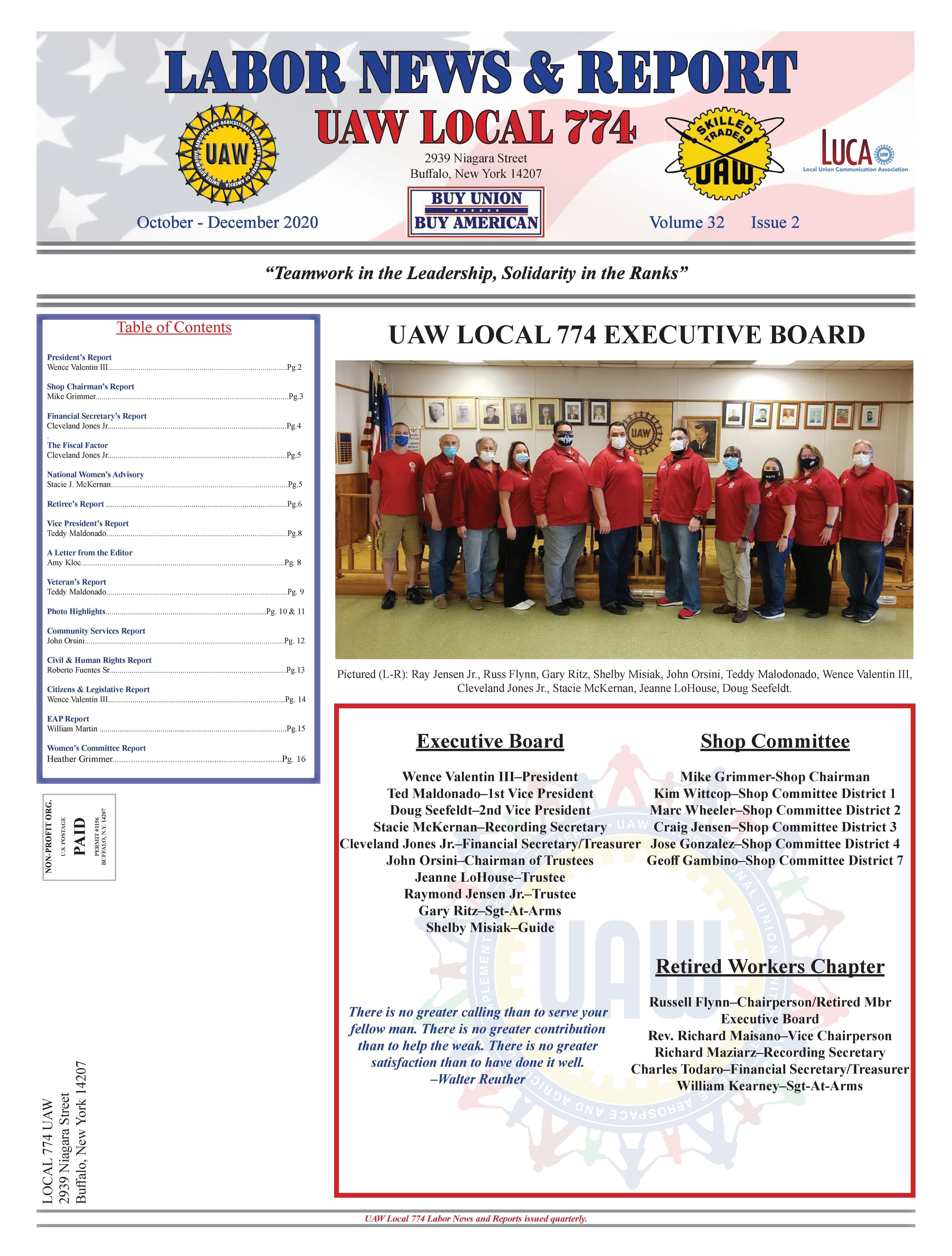 Labor News Reports